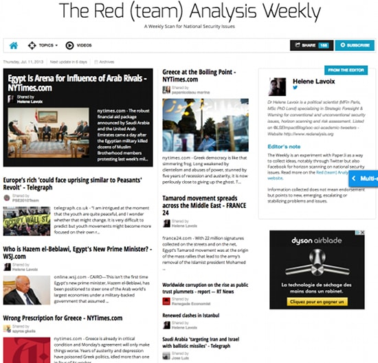 The Red (team) Analysis Weekly 108