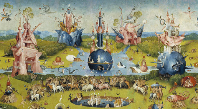 garden of delights by Bosch