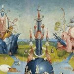 The featured image depicting the start of The Chronicles of Everstate (from Setting the stage, the actors to 2012 EVT) is a detail of the central panel (its top) of the triptych The Garden of Earthly Delights by Hieronymus Bosch, provided by Wikimedia Commons.