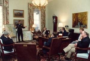 War room, Gulf war, strategic foresight and warning, clients