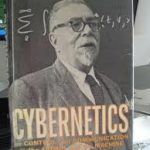 A photo of Wiener's Cybernetics seminal work by COMMUNITY WIRELESS INTERNET http://www.wlan.org.uk/dedications.htm