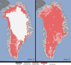 climate change, greenland, melt, World Bank