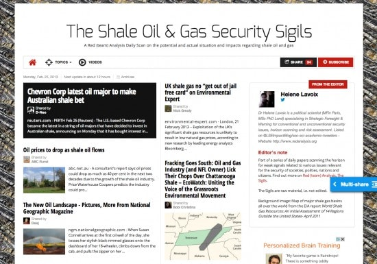 shale oil, shale gas, fracking