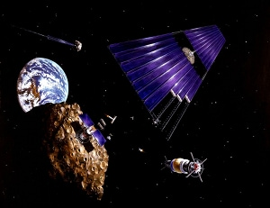 space, space mining, asteroid, space, resource