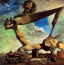 Salvador Dali, Climate change, Hobbesian World, Civil War