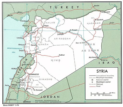 Syria, Syrian governorates