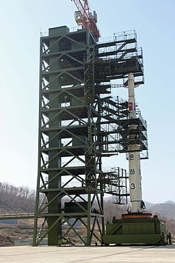 DPRK launch pad
