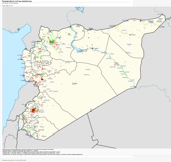 syria war template strategic intelligence assessment for syria 4 state of