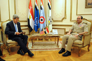 US_Secretary_of_State_Kerry_Meets_With_Egyptian_Military_Leader_General_al-Sisi_in_Cairo_2013-11-03