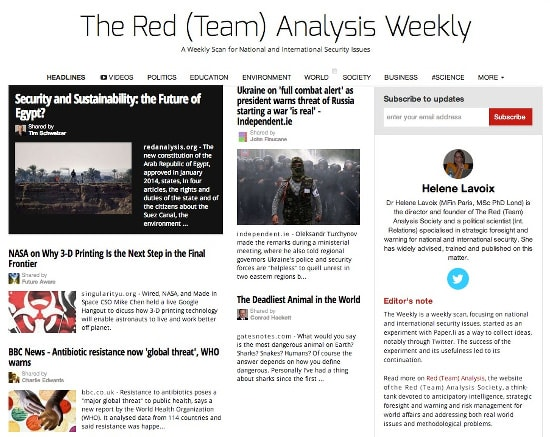 The Red  Team  Analysis Weekly 150
