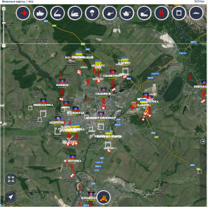 military map 12 may slavyansk