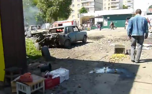 Slavyansk 29 June, DPR, LPR, Donestk, Luhansk, People's Republics, Ukraine