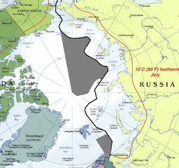 paradox, pentagon, energy environment military nexus, Russian Arctic claim