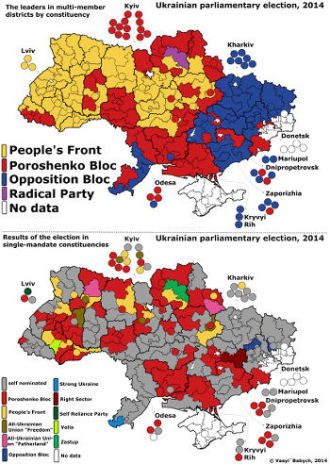 Donetsk, Minsk protocol, cease-fire, Ukraine conflict, far-right, Ukrainian parliamentary election 2014