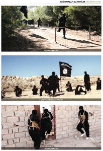 Training camp, ISIS, IS, ISIL, Daesh, Islamic State, Islamic State psyops, Ultimate war