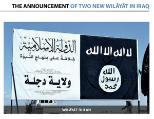 wilayat, Iraq, Islamic State, governance, war, Is, ISIS