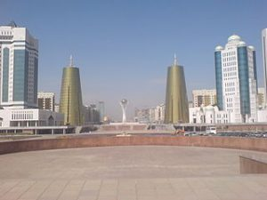 Astana, urbanisation anthropocene, Kazhakstan
