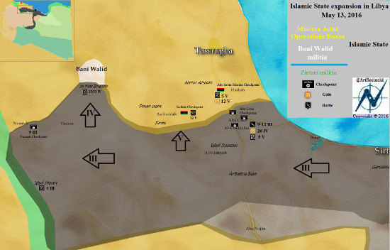 map, ISIS west expansion libya, tribes allegiance, gates of misratah, Misrata, islamic State, war, Libya, war in Libya, Tribes, pledge, bay'ah, Warfalla, Qadhadhfa, Awlad Sulayman