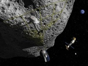 320px-Artist_Concept_-_Astronaut_Performs_Tethering_Maneuvers_at_Asteroid