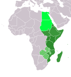 location eastern africa