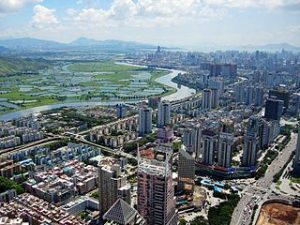 Shenzhen CBD and River