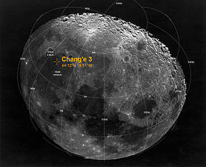 Site d'atterrissage lunaire Chang'e-3